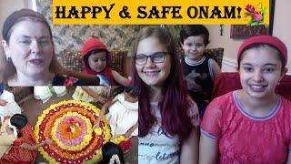 Onam Greetings 2020 / The Spirit of Kerala / Americans Reaction Kerala Tourism