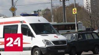 В ДТП со скорой на юге Москвы пострадали два человека - Россия 24