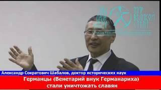 Русский профессор Казахи спасли русских от геноцида