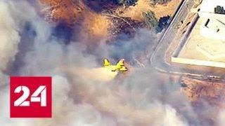 В Калифорнии из-за лесного пожара эвакуируют 38 тысяч жителей - Россия 24