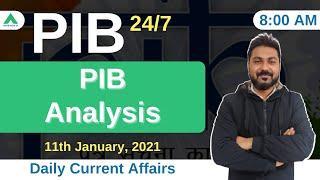 PIB 247 | PIB Analysis | Current Affairs | Day 191 - by Manish Mishra
