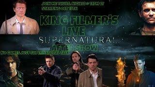 KINGFILMER'S LIVE ONLINE MOVIE CLUB LIVE SUPERNATURAL AFTER SHOW S12 E1