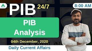 PIB 247 | PIB Analysis | Current Affairs | Day 166 - by Manish Mishra