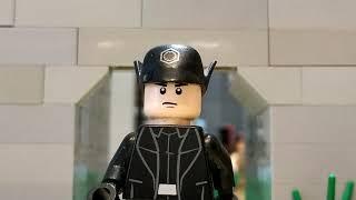 Лего мультфильм Последние дни империи - серия 3. lego stop motion.