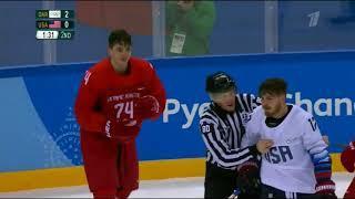 ХОКЕЙ Россия США 4: 0  Голы  Олимпиада 2018 в Корее  17 февраля 2018 года