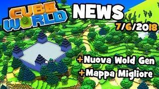 Cube World - Nuova Mappa e Generazione del Mondo! NEWS 07/06/2018