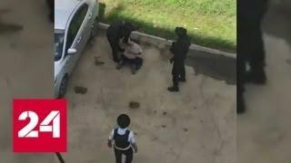 Появилось видео задержания иркутского стрелка, открывшего огонь по прохожим - Россия 24