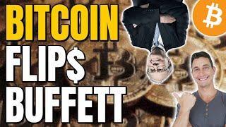 WHEN IS BITCOIN'S NEXT TOP? BITCOIN FLIPS BUFFETT, $18 BILLION BITCOIN BOUGHT BY GRAYSCALE TRUST