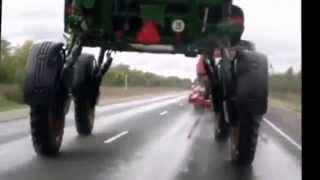 Авто приколы на дорогах - выпуск №2 - нарезка, видео приколы 2014