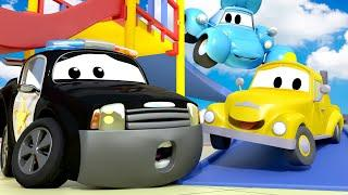 Авто Патруль -  Спецвыпуск снова в школу - Пожарная сигнализация - детский мультфильм