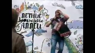 Шипков Игорь на Книжных аллеях.  Санкт Петербург, 22 июля 2017