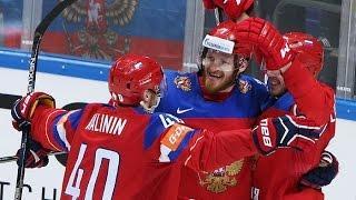 Хоккей: Россия - Швейцария 5:1 Обзор матча & Все голы / Чемпионат Мира / 14.05.2016