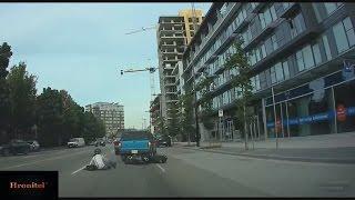 Дураки на дорогах!Аварии в городах!Женщины за рулём!Смешные происшествия!Fools on the roads!