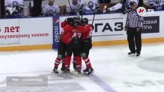 Первый гол Кирилла Капризова в КХЛ