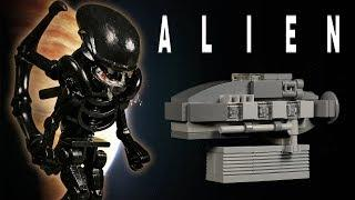 LEGO Мультфильм Чужой / LEGO Stop Motion, Animation - Alien