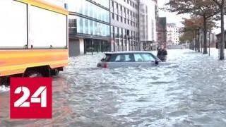 """Число жертв урагана """"Герварт"""" в Европе выросло до 6 человек - Россия 24"""