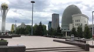 Nur-Sultan Astana City Kazakhstan Summer 2020