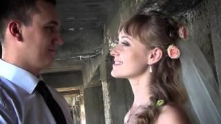 Иван и Елена свадебный клип. Рыбинский шлюз.