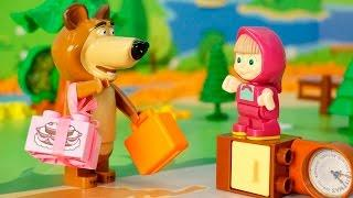 Мультики Маша и Медведь новые серии - Одна дома Мультфильмы для детей Развивающие мультики Для детей