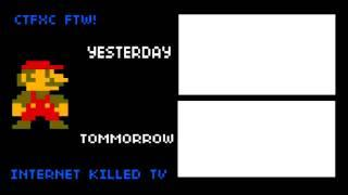 Internet Killed Television 8 Bit Mario Dance