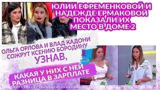 ДОМ 2 Свежие НОВОСТИ 25 апреля 2021 Ефременковой и Надежде Ермаковой показали их место в доме 2