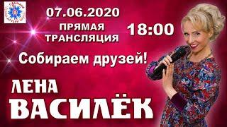 Лена Василёк. Собираем друзей! 07.06.2020