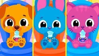 Мультики для детей | Цветные коктейли и профессии для малышей в детской игре