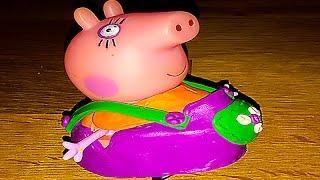 Свинка Пеппа Беременная Мама Свинка Свинка Пеппа Новые серии 5 МЕСЯЦЕВ  Мультфильм из игрушек