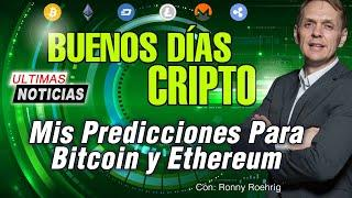 BUENOS DIAS CRIPTO | Analisis y Noticias de criptomonedas | Hoy 31 Julio de 2020 | Ronny Roehrig