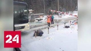 В Ленобласти водитель автобуса рисковал собой, чтобы спасти 15 человек - Россия 24