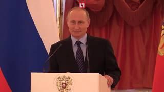 Путин успокоил плачущего ребенка за 10 секунд!
