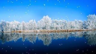 Расслабляющая успокаивающая лечебная музыка - красивые зимние пейзажи