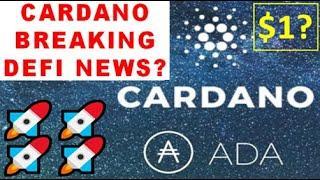 Cardano ADA Price Prediction September 2020