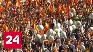 Испанцы считают, что каталонским кризисом надо было заняться раньше - Россия 24