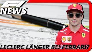Leclerc vor Vertragsverlängerung? | F1 News | Maik's F1 Channel