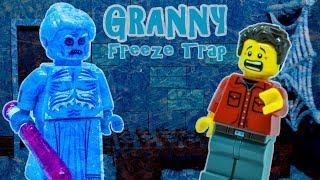 LEGO Granny Freeze Trap stop motion