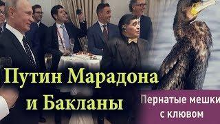 ПУТИН И МАРАДОНА, ГОТОВ ЛИ СТАДИОН К ЧЕМПИОНАТУ МИРА ПО ФУТБОЛУ Мундиаль 2018