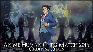 Metrocon 2016 - Anime Human Combat Chess Match