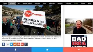 "It's Hitting The Fan! Trump Going Ahead on Jerusalem-German FM ""American Dominance Is History"""