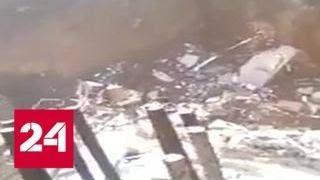 В Мексике рухнули в котлован четыре дома, есть пострадавшие - Россия 24