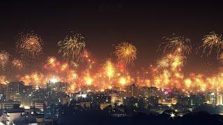 পুরান ঢাকায় আতশবাজি। থার্টি ফার্স্ট নাইট । Fireworks in Old Dhaka । 31st night in Dhaka