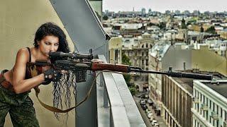 Смотреть крутой боевик 2020 - женщина с оружием сражается против бандитов - фильм криминал