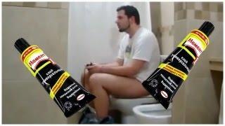Приколы в туалете.Веселые приколы в общественном туалете!Жестокие розыгрыши людей в туалете!Пранк!!!
