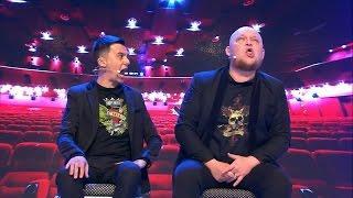 КВН Плохая компания - Муж и жена на концерте горлового пения