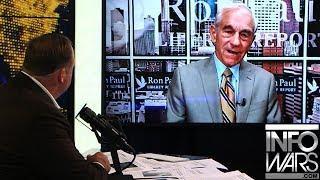 Dr. Ron Paul Tells Alex Jones What He'd Do As President