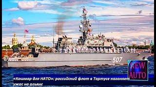 «Кошмар для НАТО»: российский флот в Тартусе нагоняет ужас на альянс