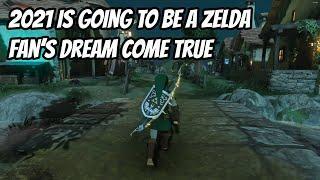 Zelda's 35th B-Day Will be HUGE. 4k RTX Breath of the Wild!? Skyward Sword HD? Hyrule Warriors 2?