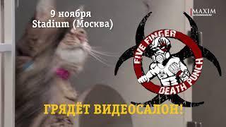 Скоро в Видеосалоне Five Finger Death Punch!