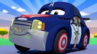 Малярная Мастерская Тома - Спецвыпуск Мстители - Мэт Капитан Америка - детский мультфильм
