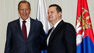 Пресс-конференция глав МИД России и Сербии. Полное видео